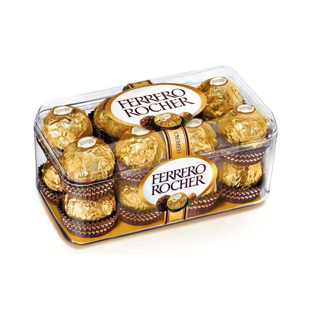 Caja Chocolates Ferrero Rocher 16 pzs