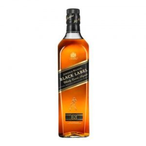 whisky johnnie walker black label escocés 12 años 750 ml