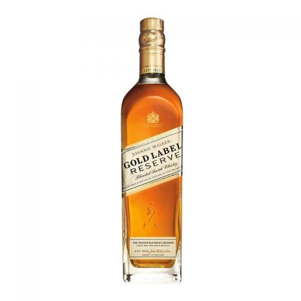 whisky johnnie walker gold label reserve escocés 750 ml